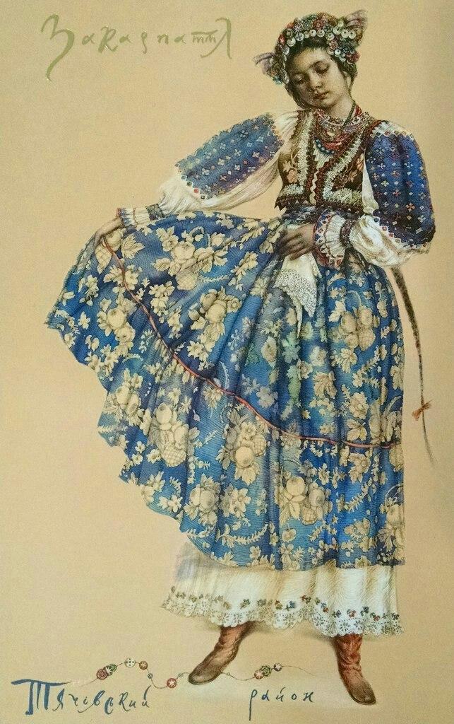 Галерея українських облич: традиційні жіночі строї ХІХ-ХХ століть