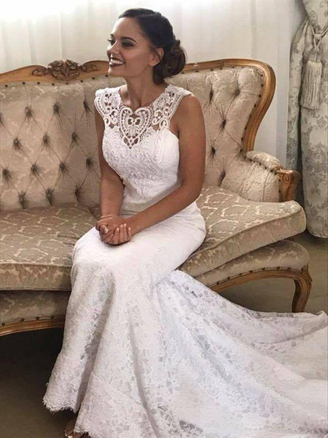 """Фото з весілля у ПАР. Наречена у сукні українського виробника Elena Morar. """" cc6ab9d5dff43"""