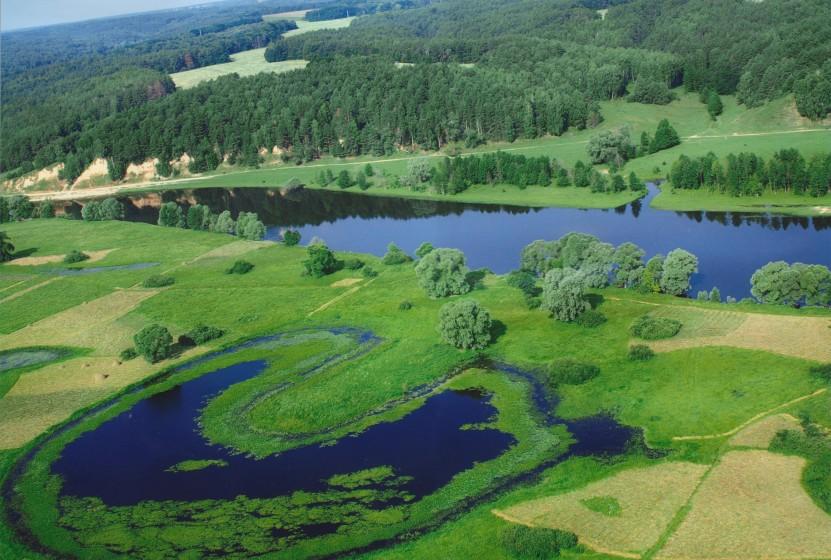 Фото: Мезинський національний парк - озеро Підкова (mezinpark.com.ua)