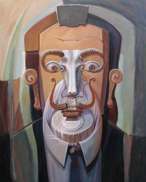 Оптичні ілюзії від Олега Шупляка