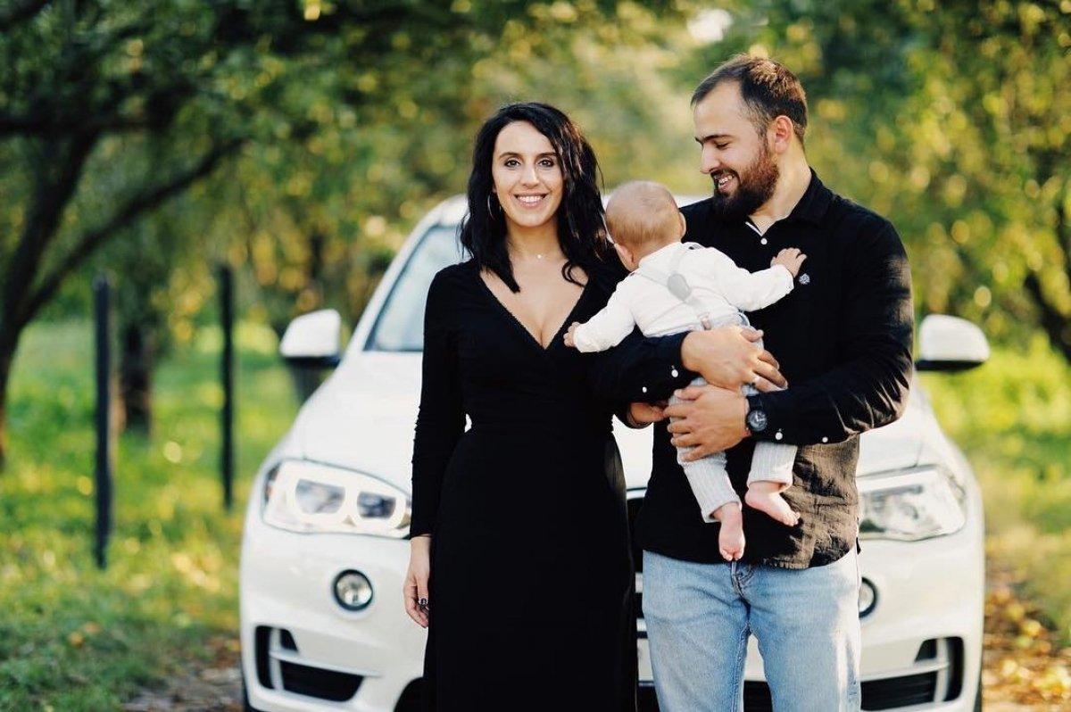 Джамала з родиною
