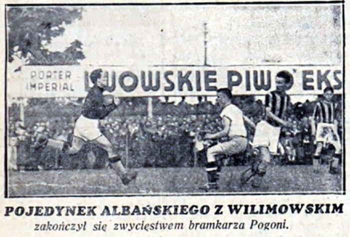 Реклама Львівського пива під час футбольного матчу.