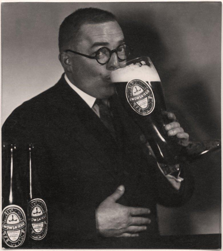 Реклама Львівського пива, 1930 рік.