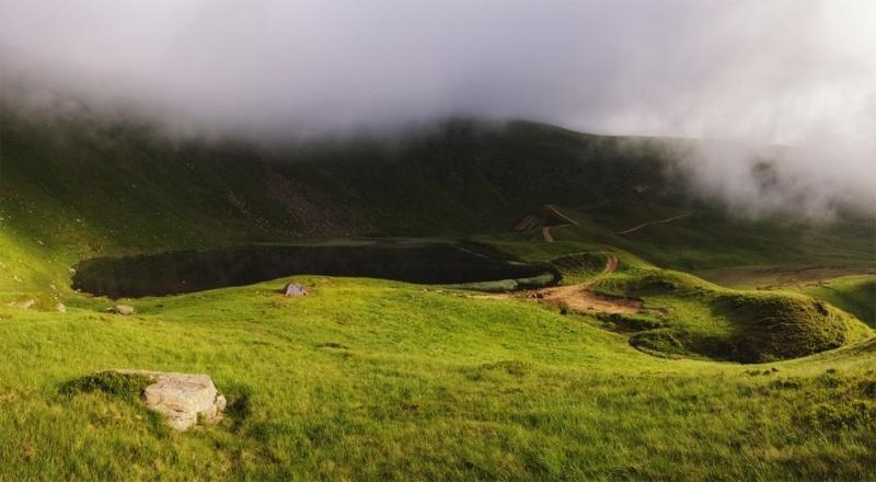 Озеро Герешаска та Драгобратський водоспад