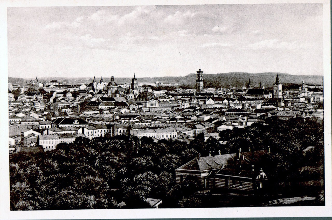 Панорама міста Львова. Фото початку ХХ століття