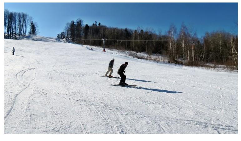 Гірськолижний спуск на курорті «Буковиця» у Бориславі (фото з сайту бази «Буковиця»)