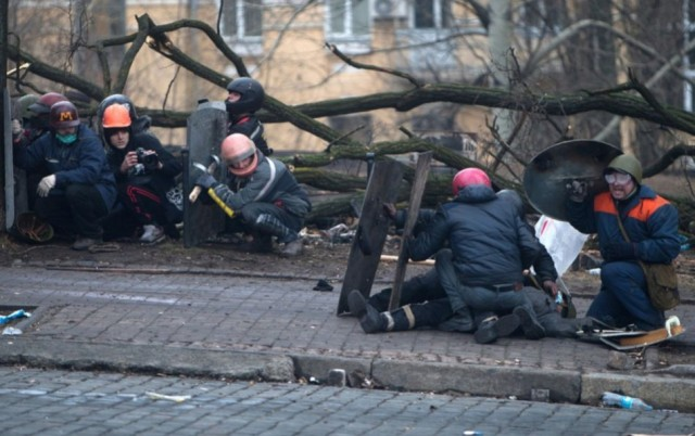20 лютого, епіцентр стрільби. Фото Reuters / Stringer