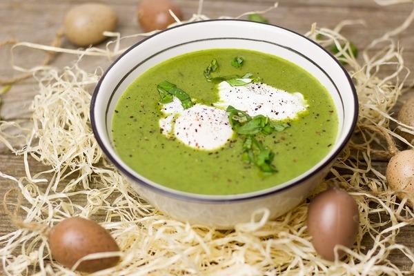 Вершково-шпинатний суп