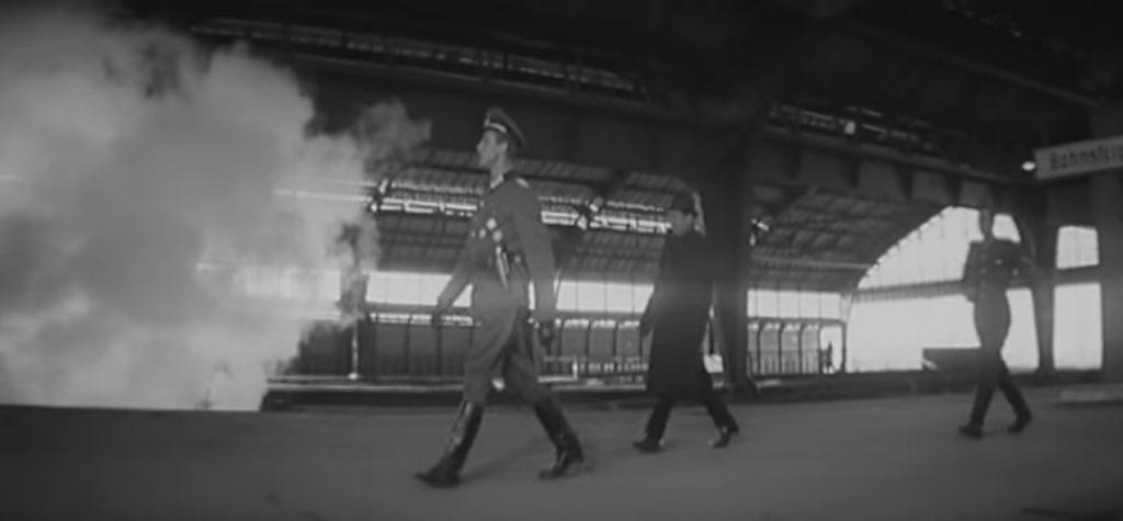 Кадр з фильму «Щит і меч». Головний вокзал © youtube.com