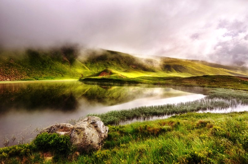 Озеро Герешаска фото: Deffar