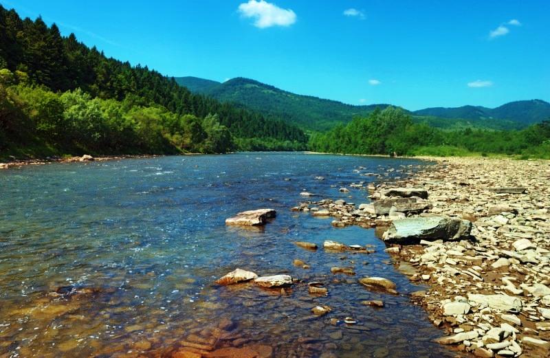 Річка Стрий фото: Іван Маляренко