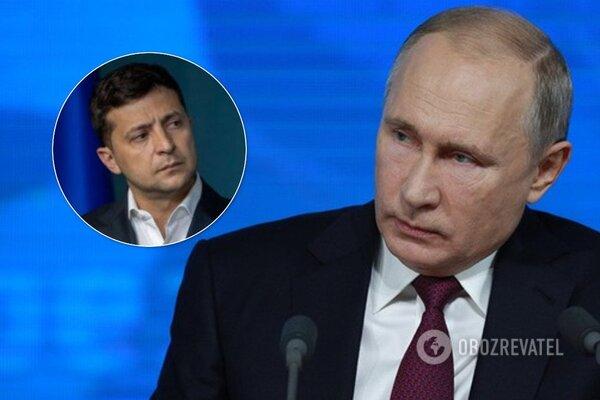 Пєсков розповів про ставлення Путіна до Зеленського