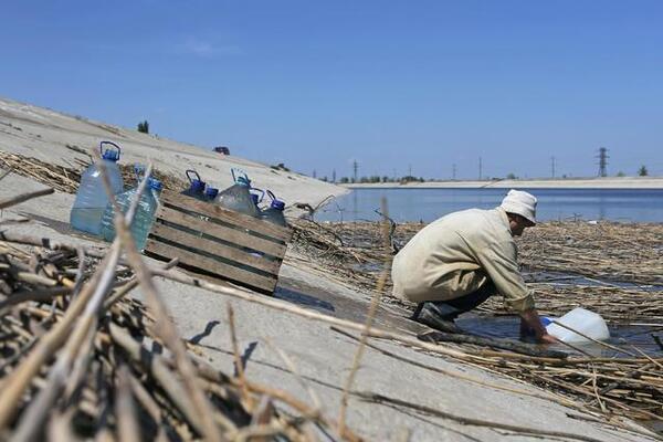 Ілюстрація. Проблеми з водою в Криму