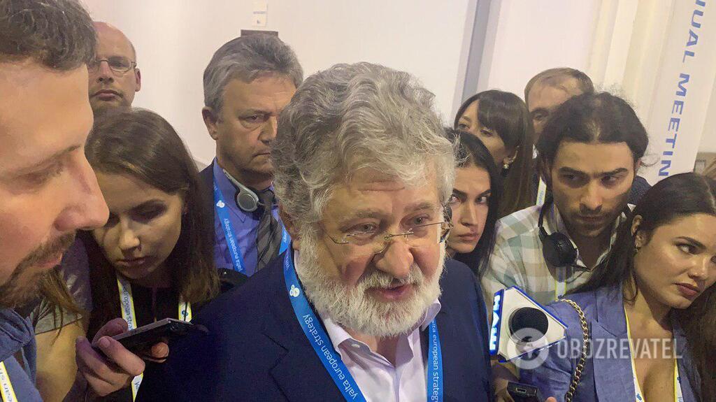 Ігор Коломойський на YES