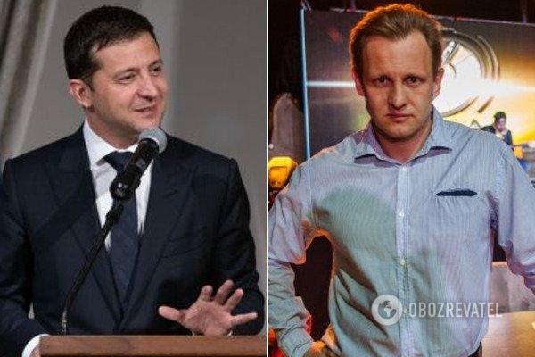 Володимир Зеленський і Олександр Андросов