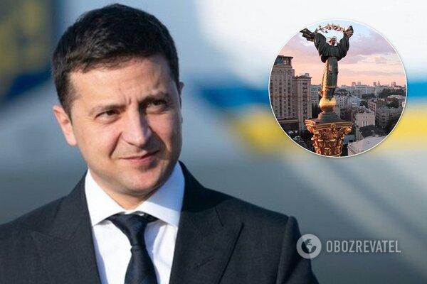 Зеленський назвав Маріуполь столицею України