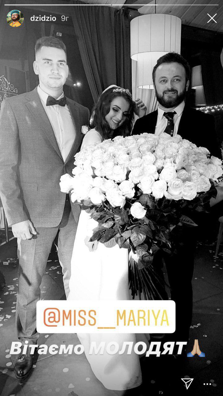 «Він сьогодні разом з нами тішиться» - Дзідзьо опублікував фото з весілля доньки Кузьми