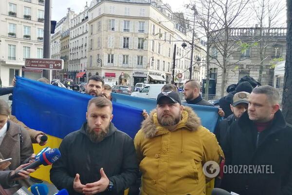 Максим Жорін і Андрій Козінчук звернулися до Зеленського у Парижі