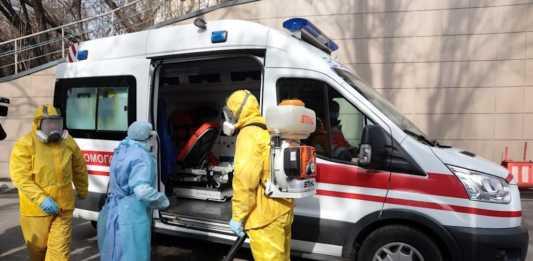Ukrainians officials confirm 156 coronavirus cases