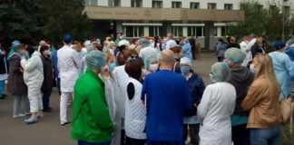 У Києві медики оголосили бойкот: надбавку за COVID-19 не видали, а зарплату урізали