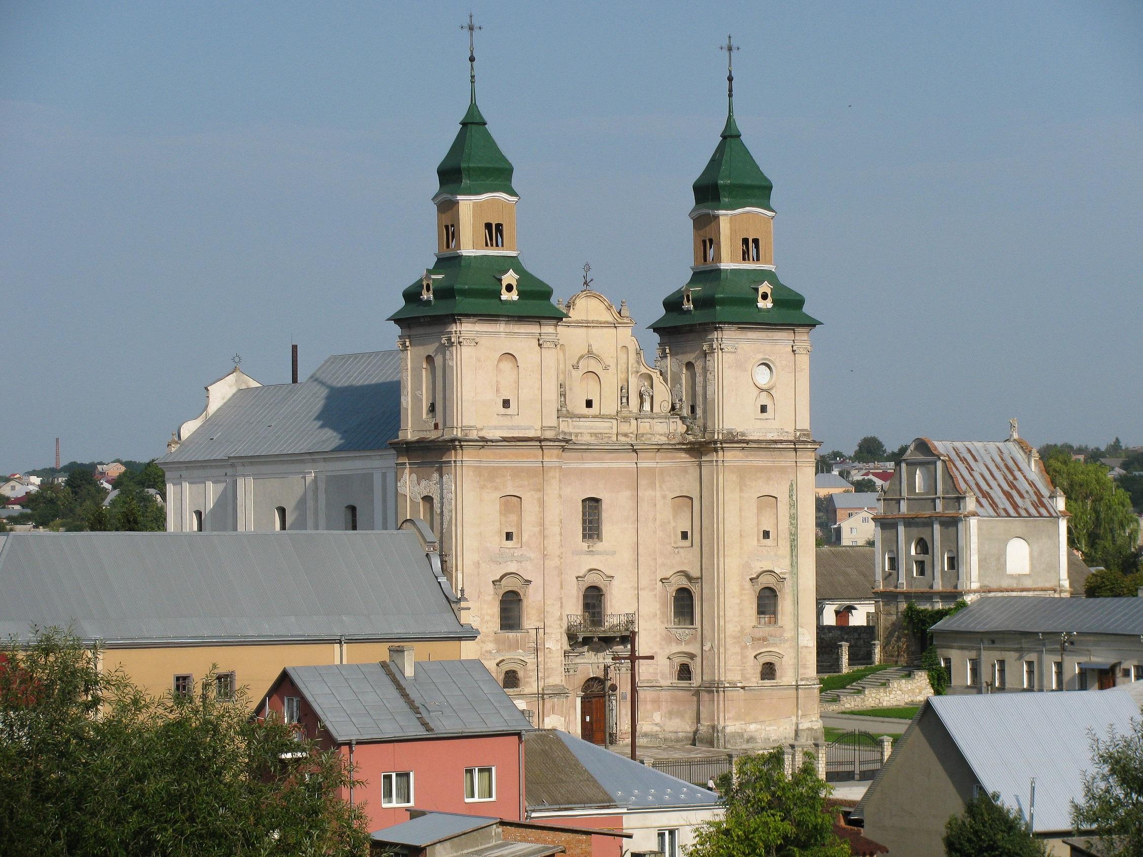 У Збаражі відреставрують монастир Бернардинів - пам'ятку ...