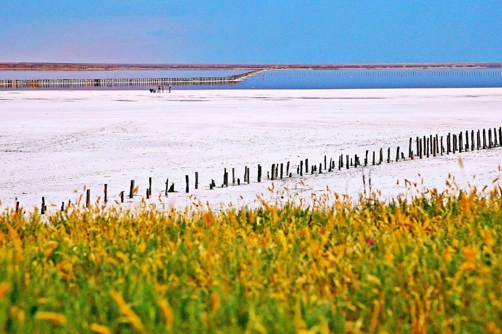 Озеро Сиваш генічеськ арбатська стрілка як доїхати