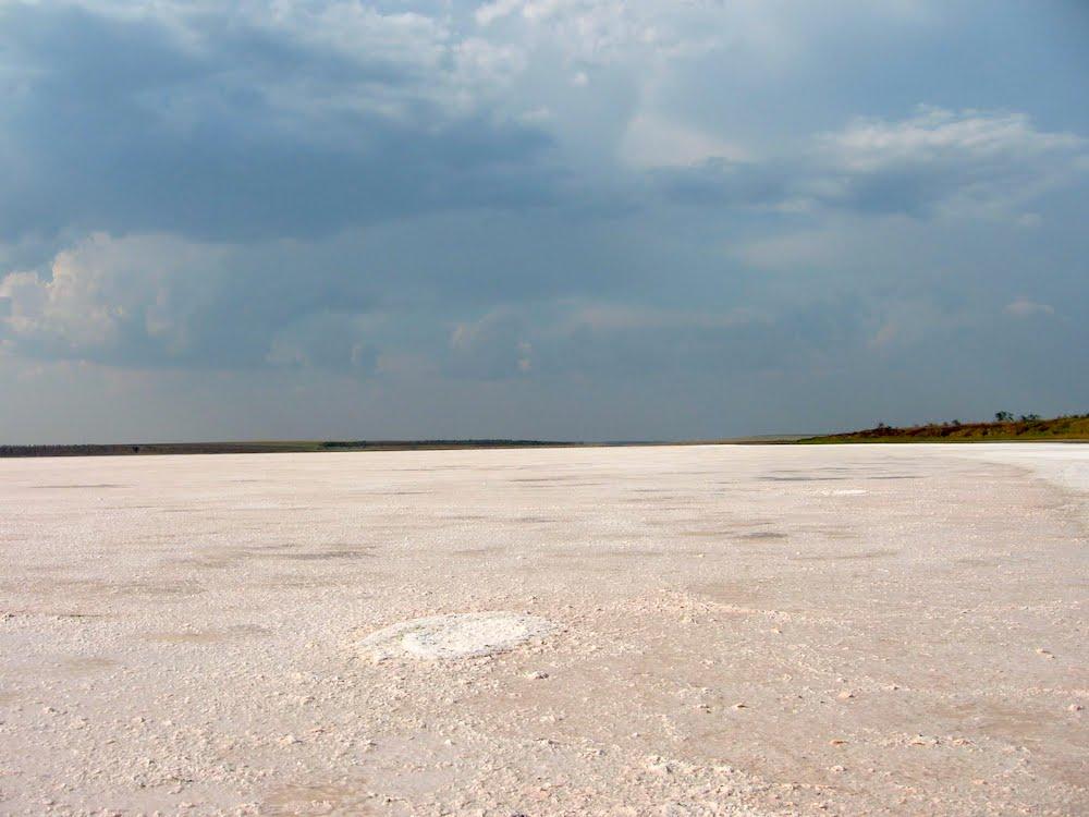 Рожеве озеро Солонець-Тузли як доїхати