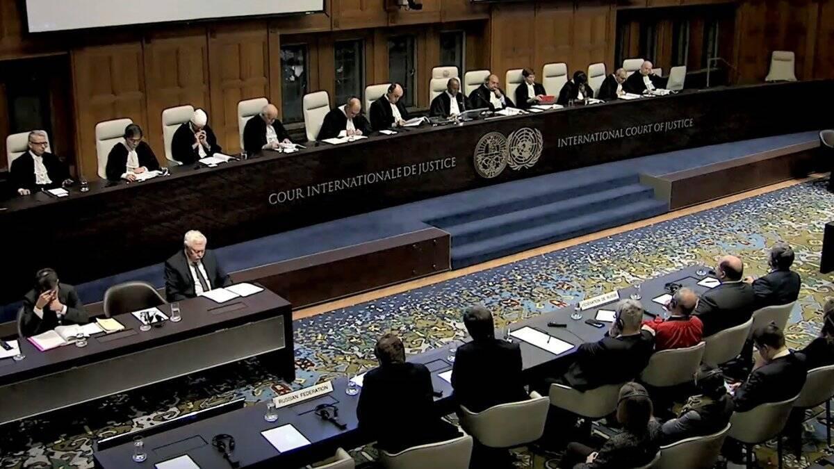 Засідання суду ООН щодо дій Кремля в Криму і на Донбасі