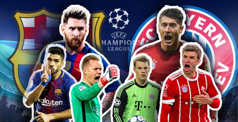 Барселона - Бавария 2:8: онлайн трансляция матча