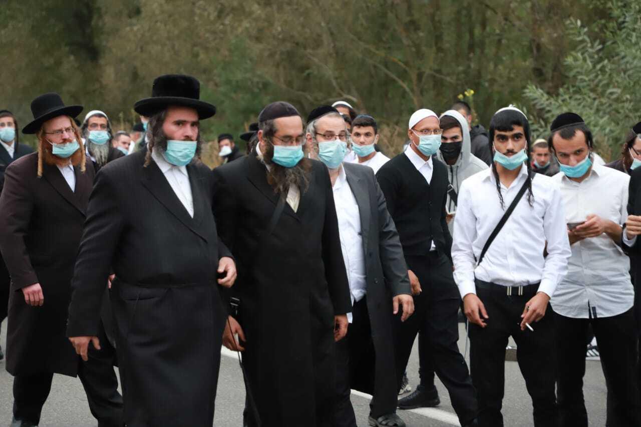 У 2020 році Україна ввела низку обмежень на час святкування єврейського Нового року
