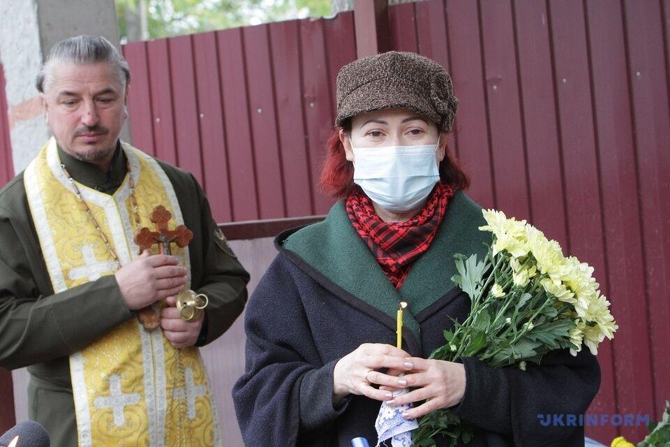 Прощення пройшло біля лікарні Мечникова.