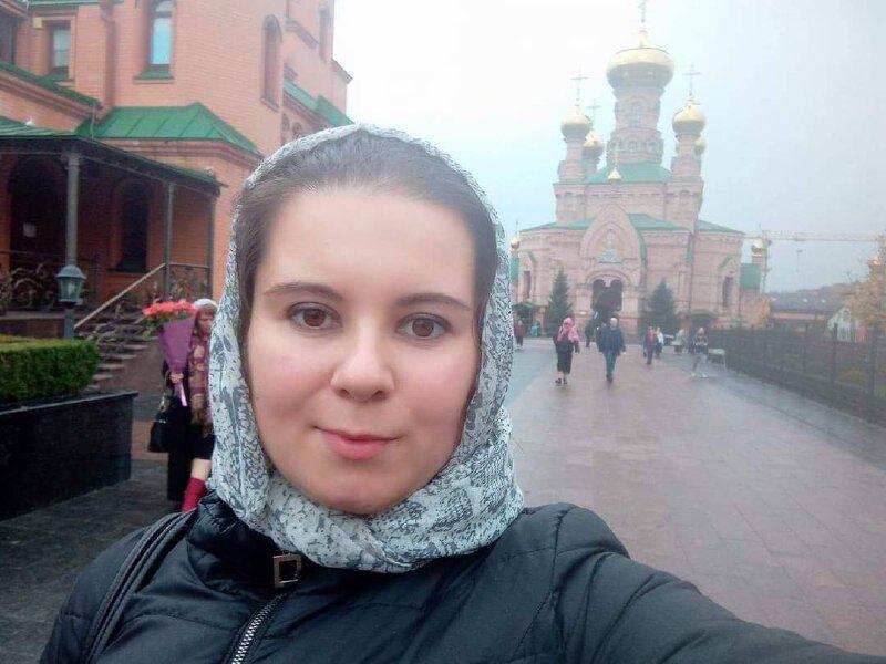 Алла в монастирі в Голосієво в Києві