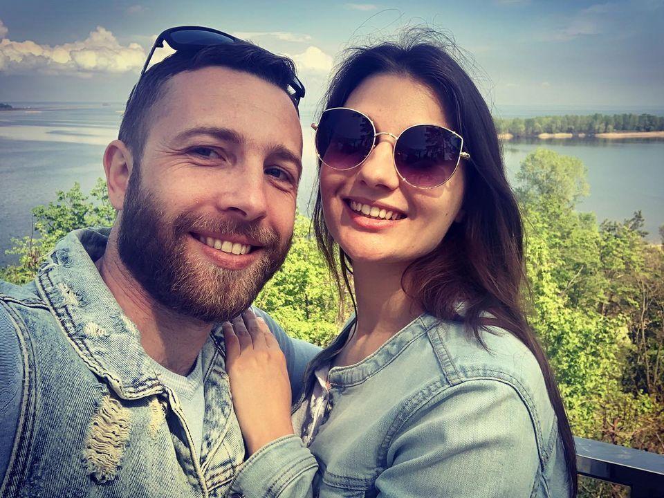 Олександр і Євгенія одружилися рік тому.