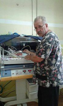 Борис Павленко рятував найменших новонароджених