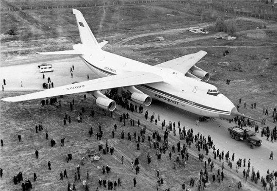 """Літак Ан-124 """"Руслан"""" облетів земну кулю, встановивши 7 світових рекордів"""