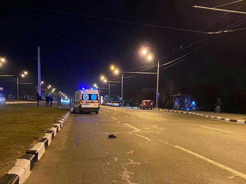 ДТП на Гагаріна в Харкові.