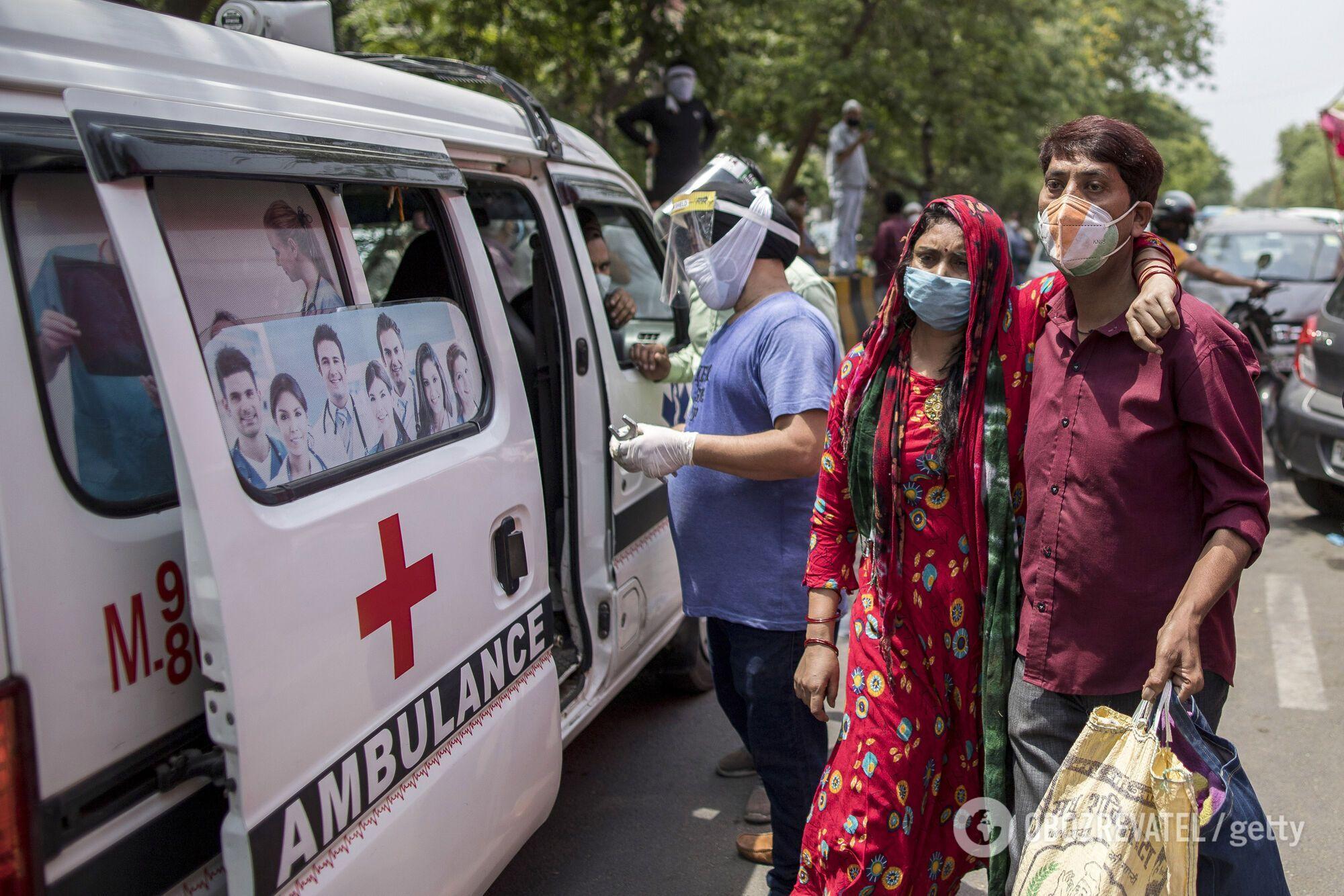 Щодоби в Індії фіксують щонайменше 360 тисяч хворих на коронавірус