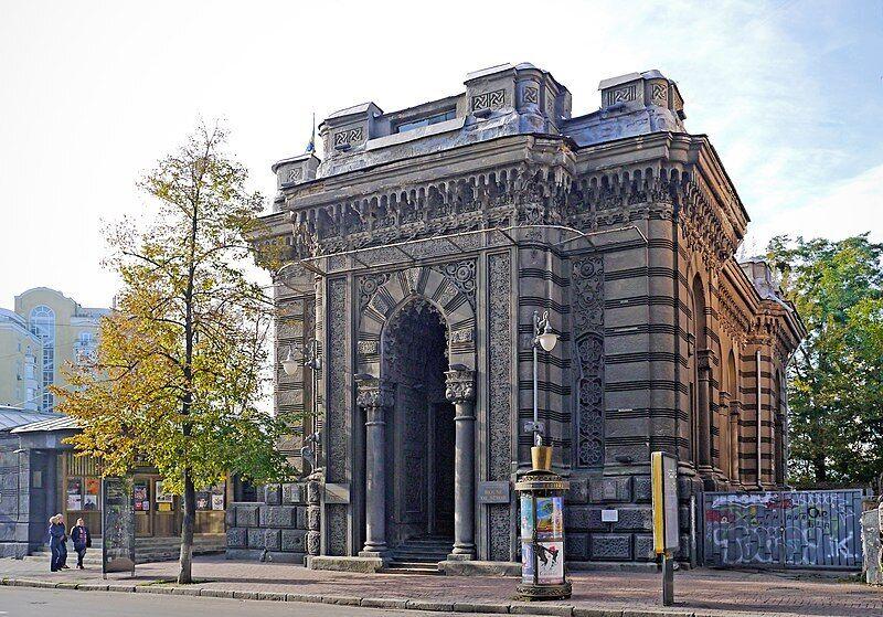 Будівля кенаси на Ярославовому Валу тепер служить Будинку актора.