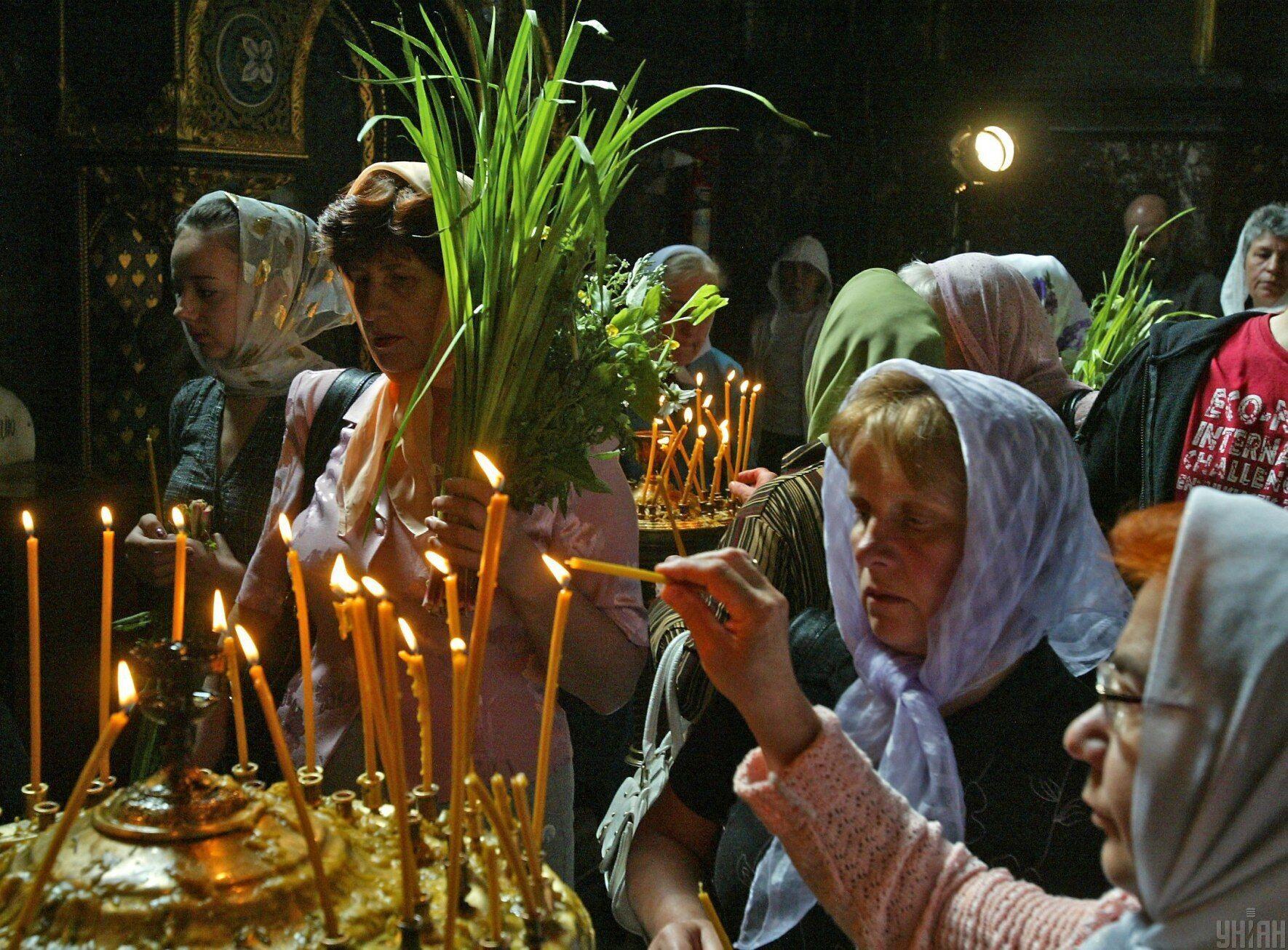 У День Святої Трійці віряни вирушають до храмів