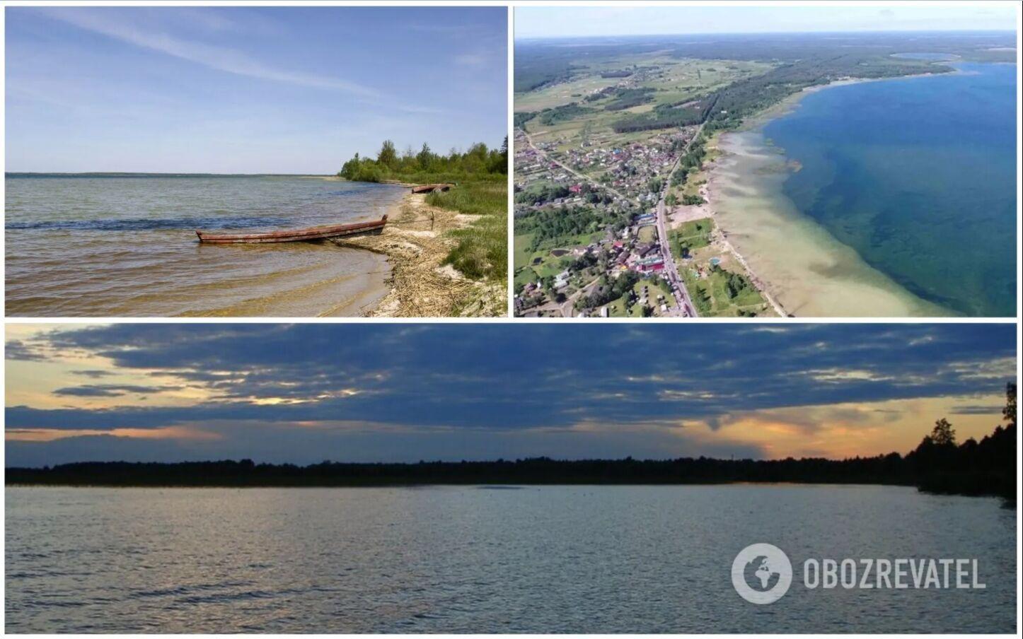 Озеро Світязь вважається найглибшим в Україні