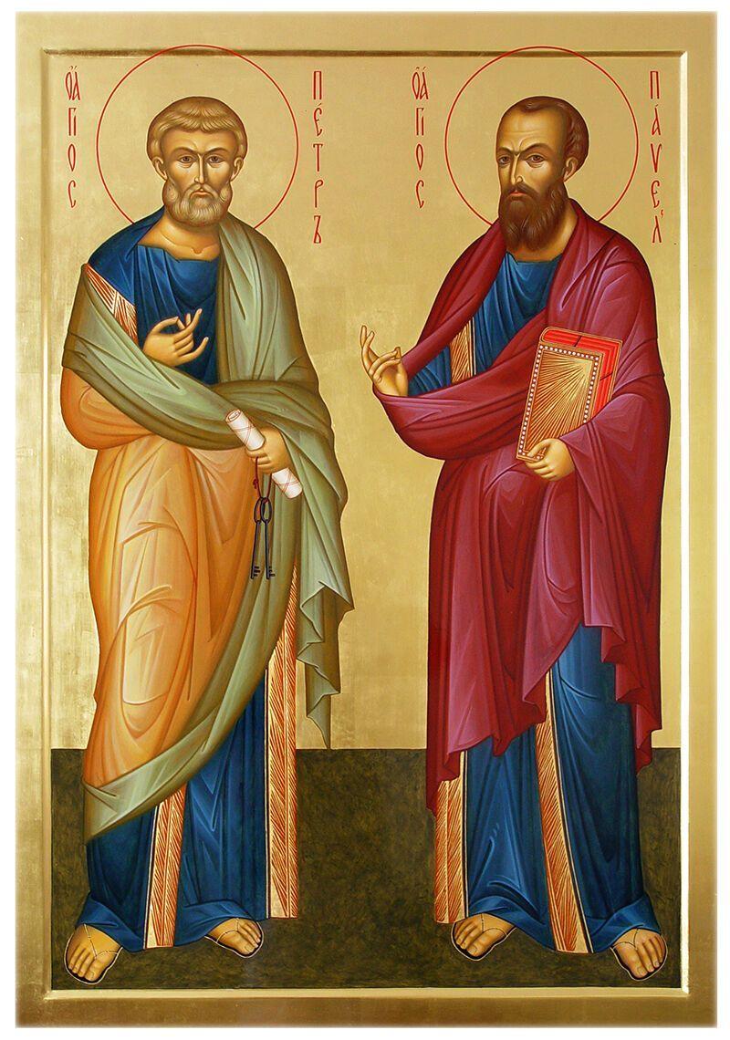 Петро й Павло прийняли мученицьку смерть у Римі