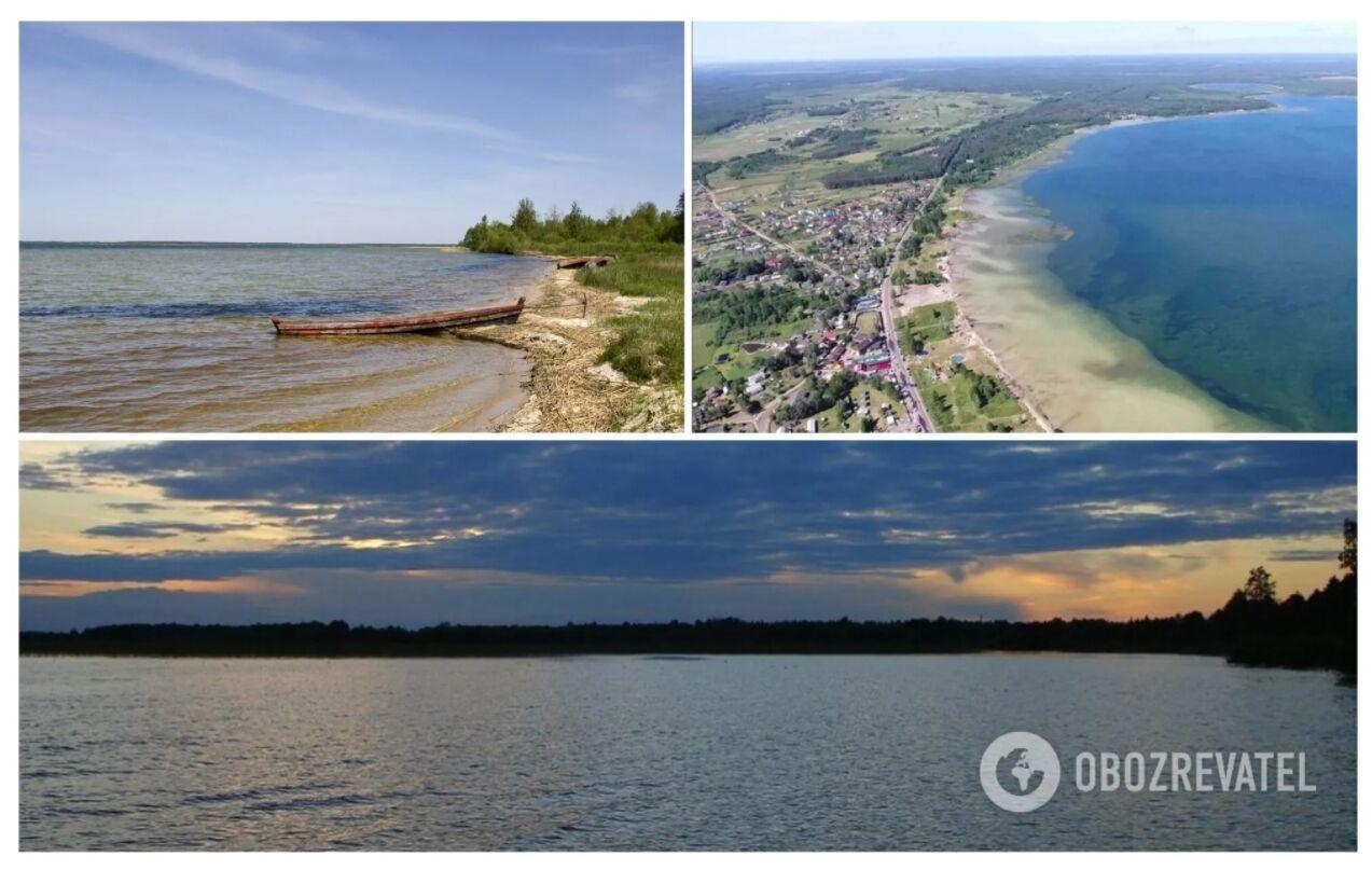Світязь є найглибшим і найбільшим озером у Шацькому національному природному заповіднику