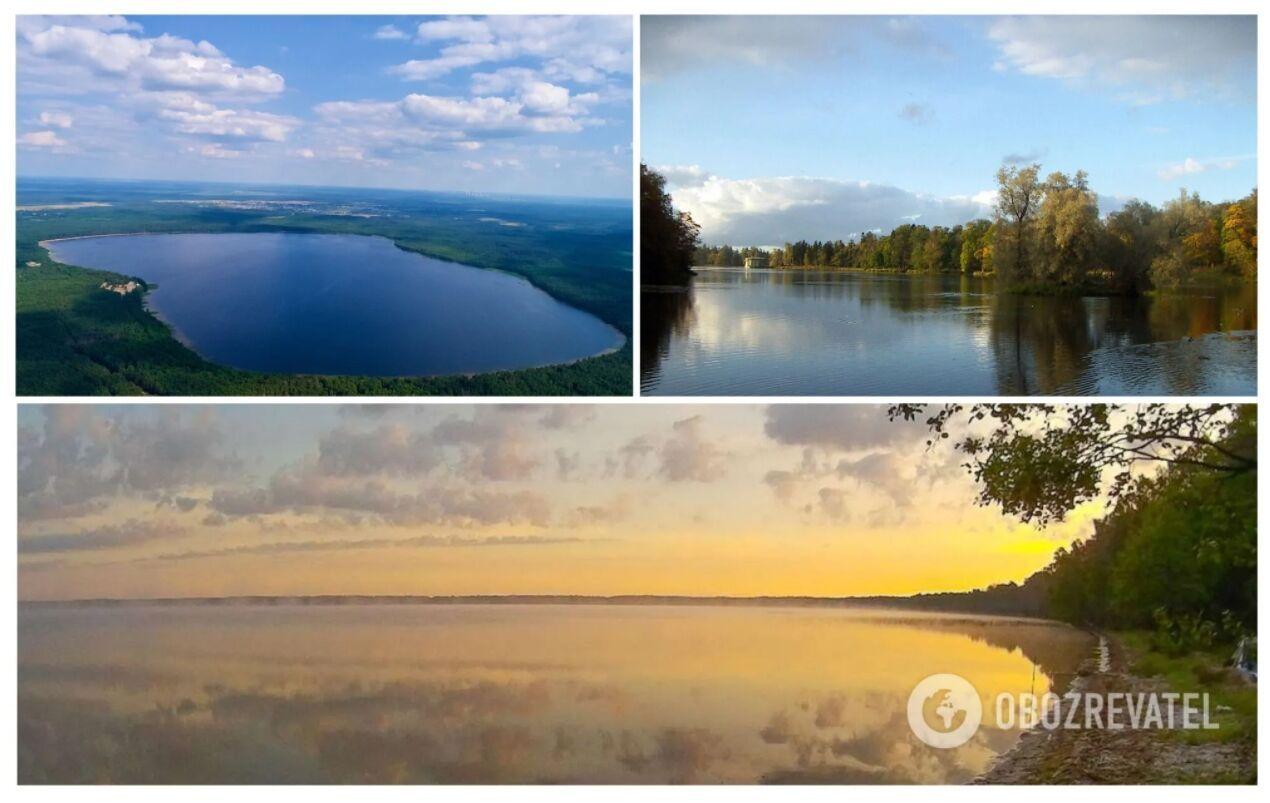 Біле озеро розташувалося в селі Рудка в Рівненській області