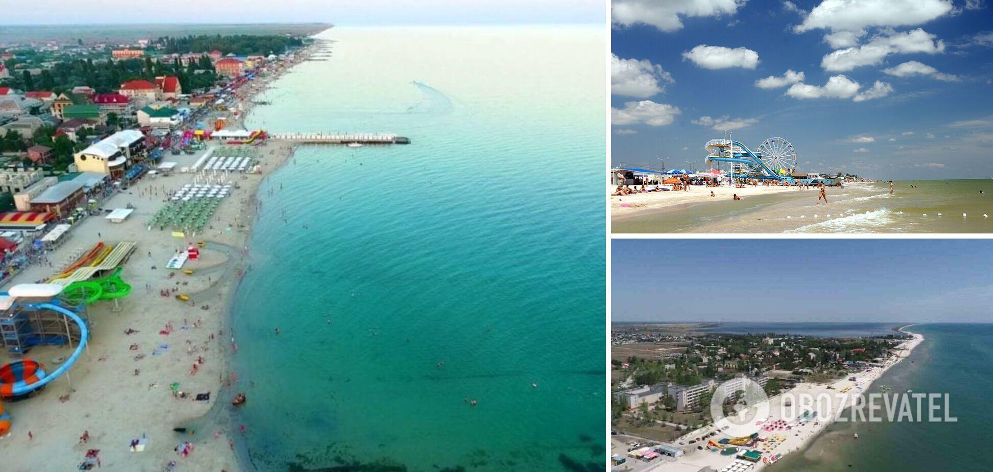 Залізний Порт, Кирилівка і Лазурне