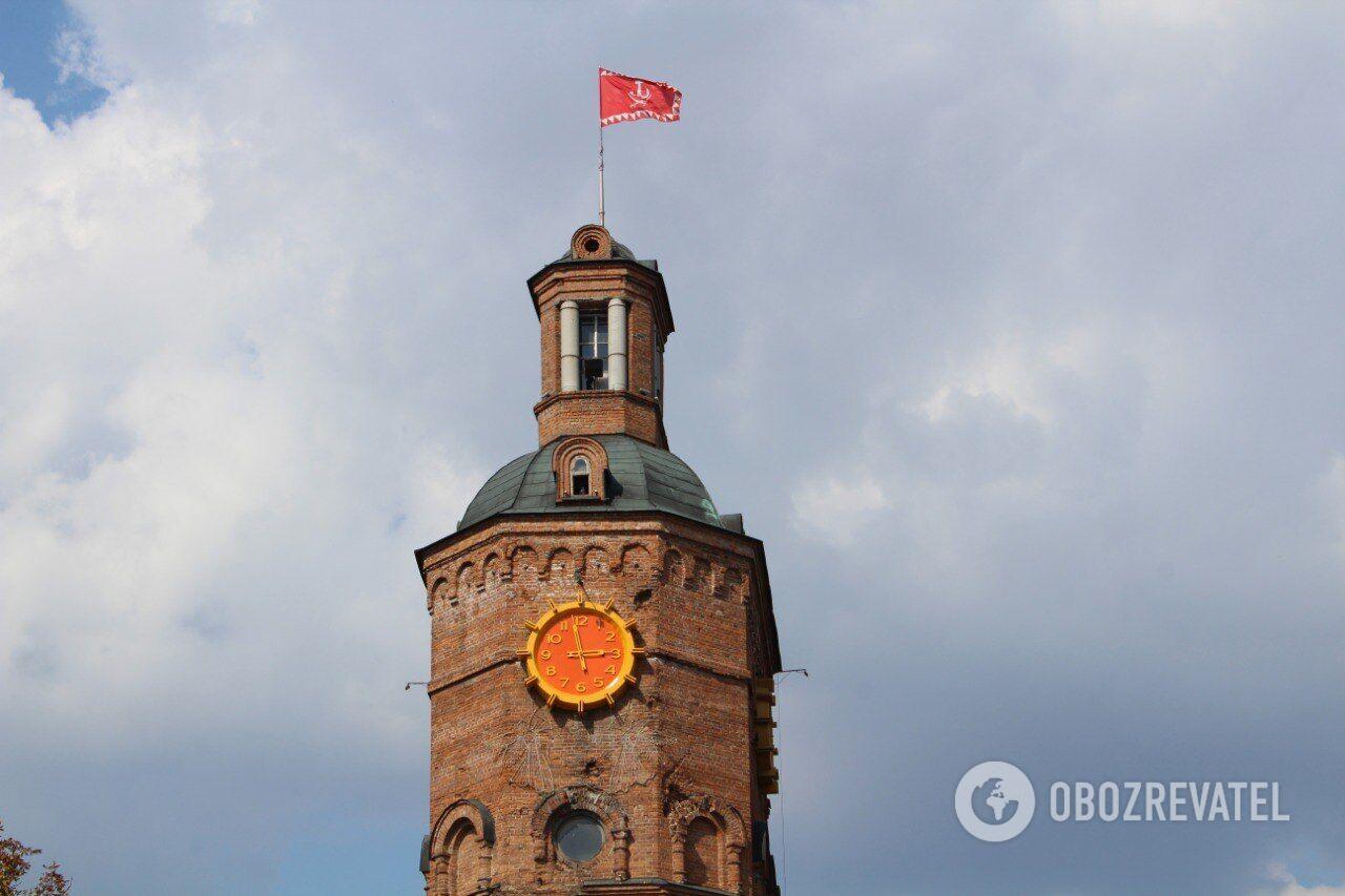 Водонапірна башта у Вінниці – популярна місцева пам'ятка.