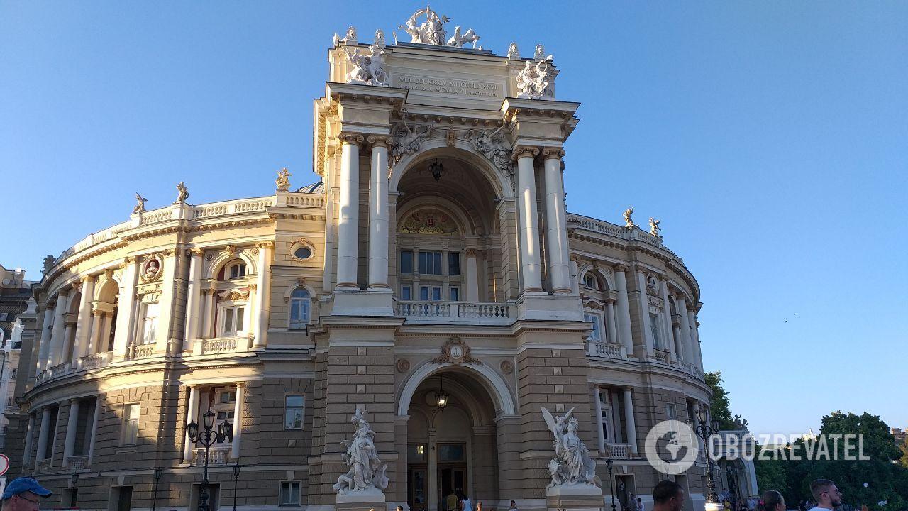 Одеська опера – це витвір архітектурного мистецтва.
